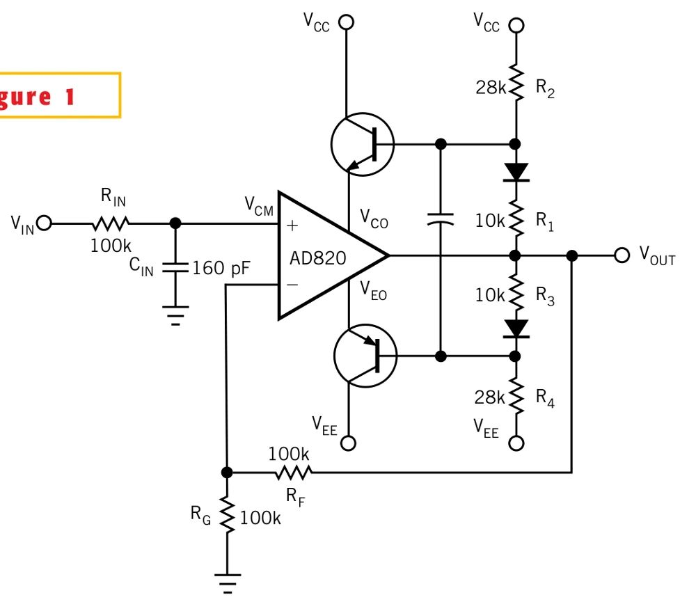 voltage opamp amplifier