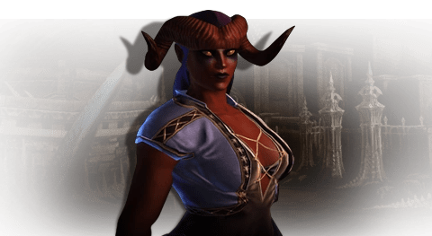 Never Trust On Girl Wallpaper Tiefling Neverwinter Wiki