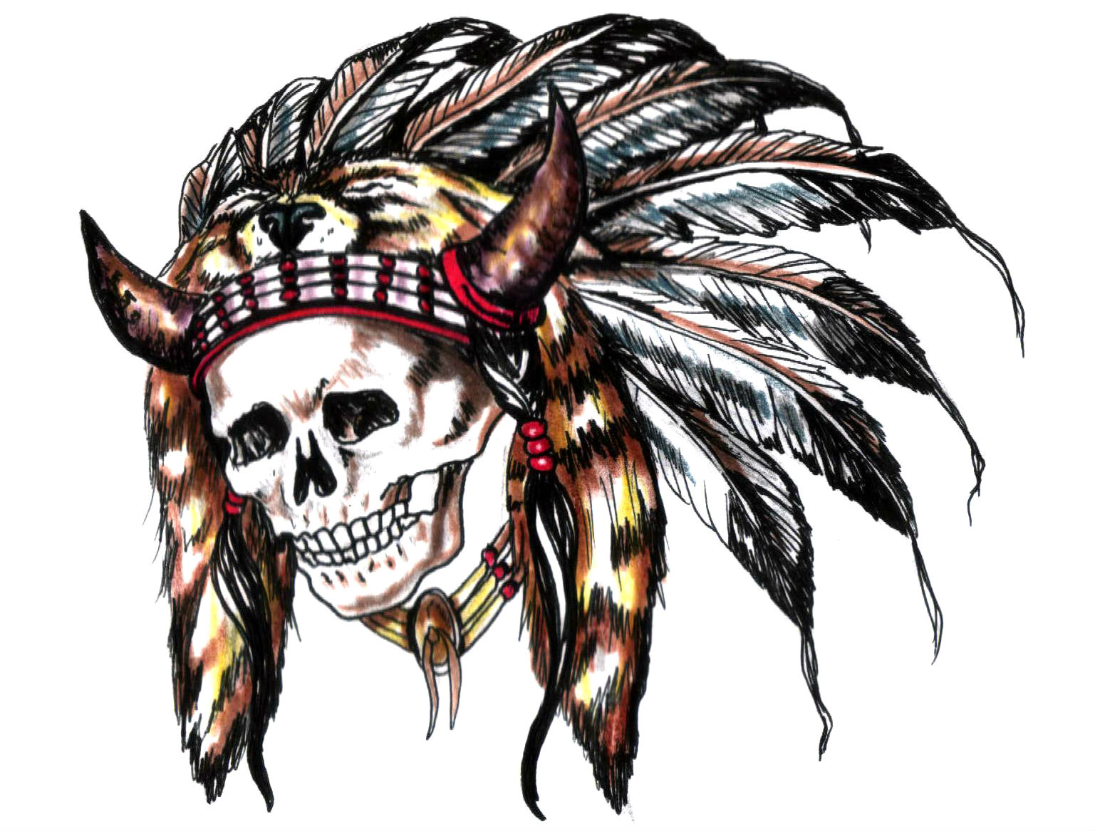 Native American Wallpaper Iphone Tattoo Wallpaper And Background Image 1537x1167 Id