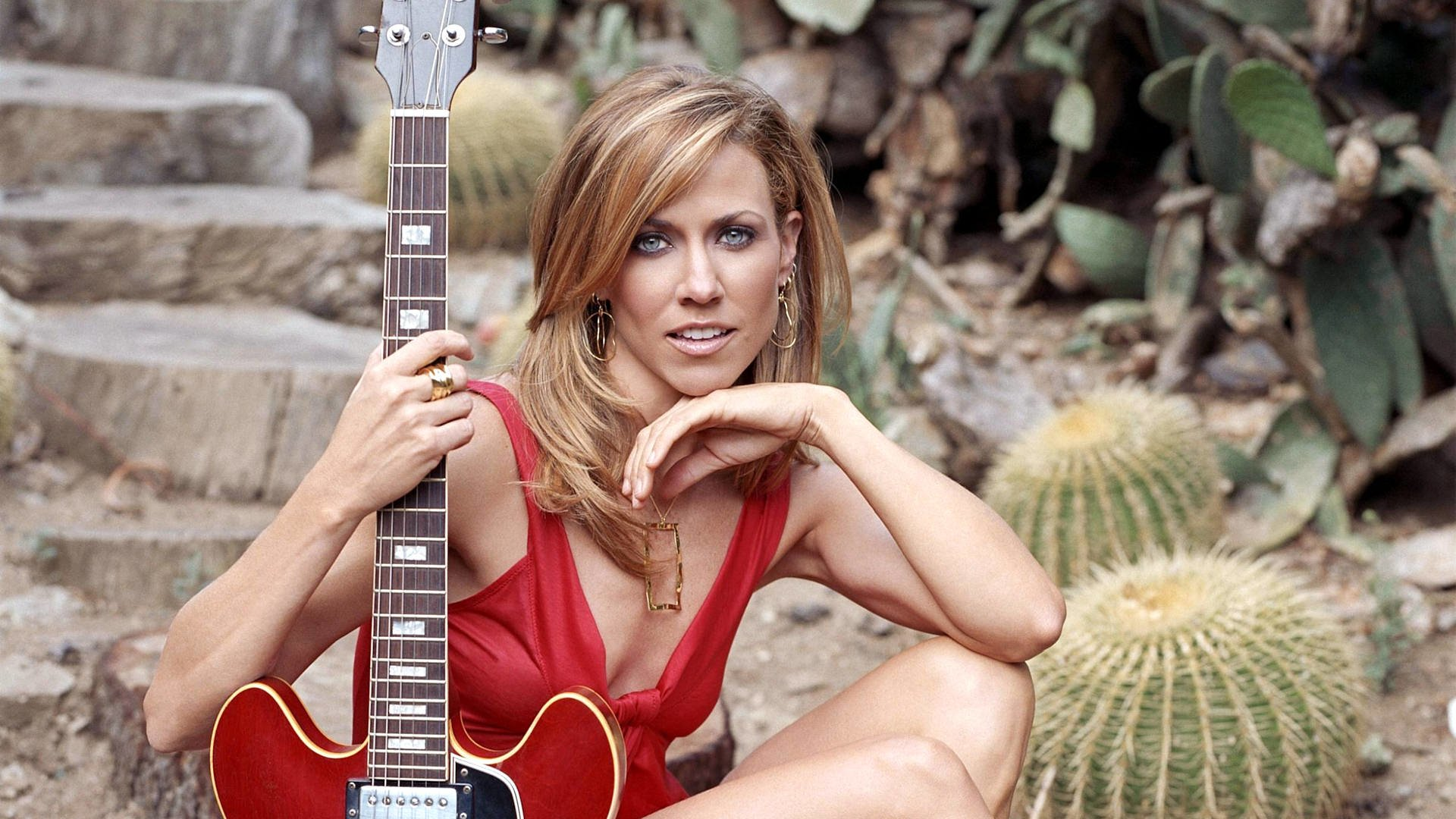 Guitar Wallpaper For Facebook Profile Girl Sheryl Crow Hd Wallpaper Background Image 1920x1080