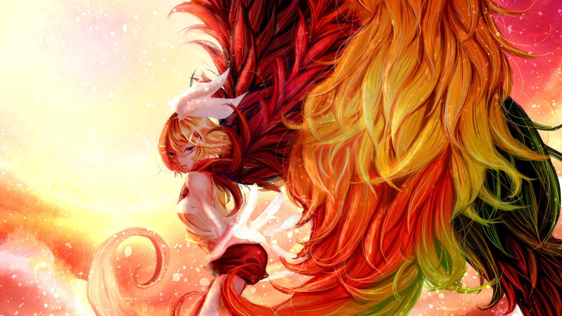 Phoenix Wallpaper Iphone Vocaloid Fondo De Pantalla And Fondo De Escritorio