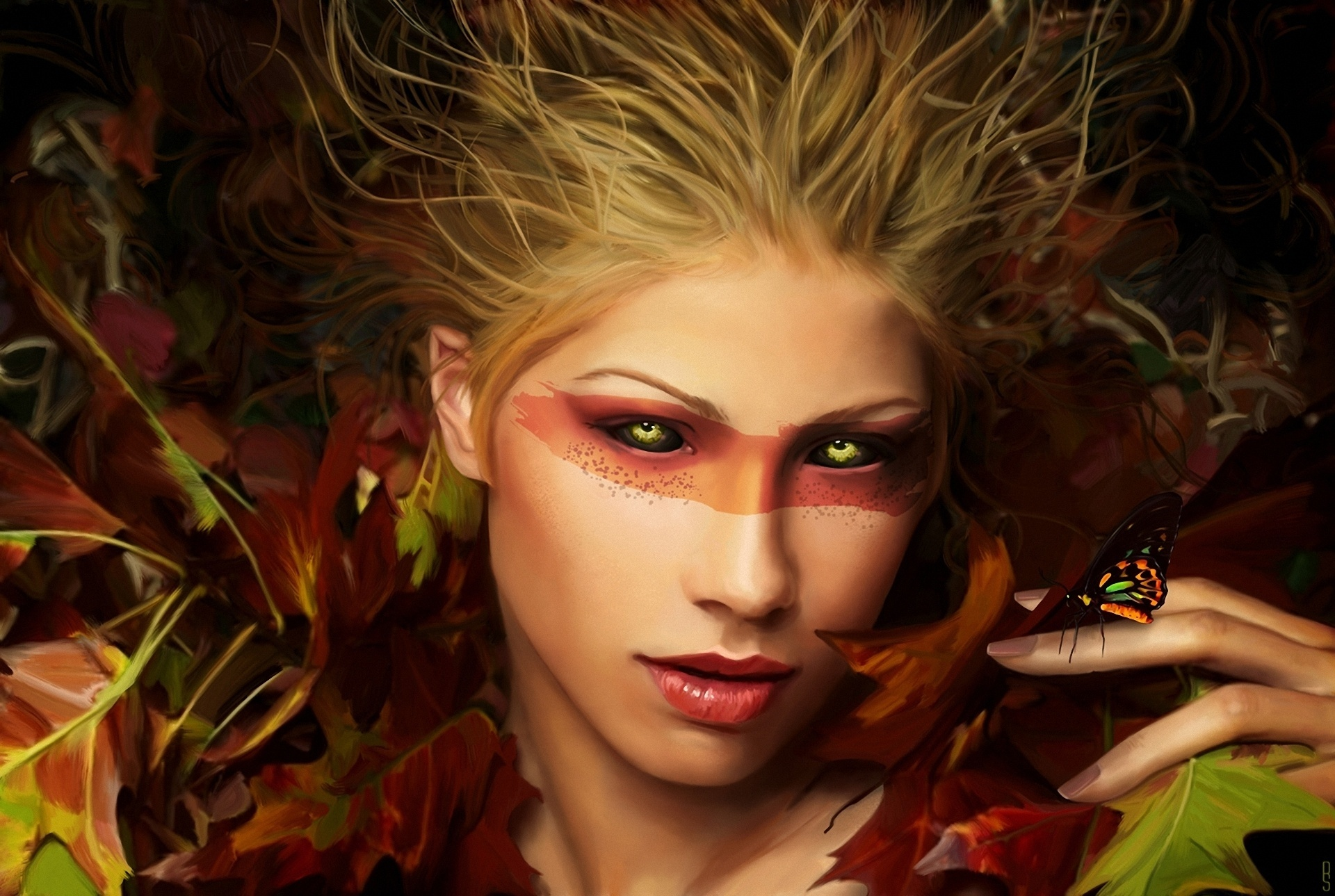 Fall Masquerade Fairies Wallpapers Women Full Hd Wallpaper And Background 1920x1289 Id 310068