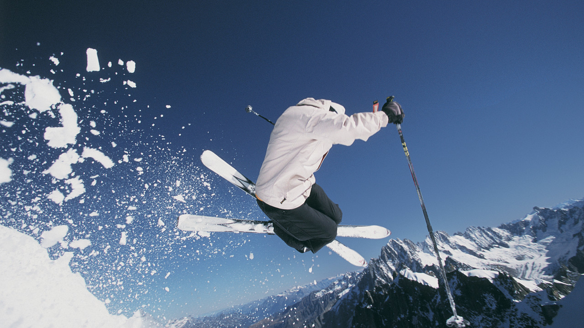Skiing Wallpaper Skiing Hd Wallpaper Background Image 1920x1080 Id 313833