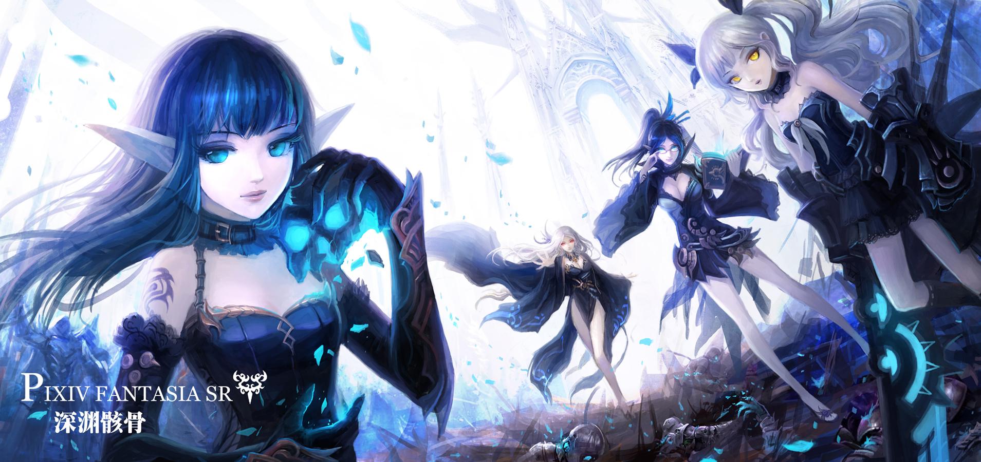 Anime Ninja Girl Wallpaper Hd Pixiv Fantasia Wallpaper And Background Image 1909x900