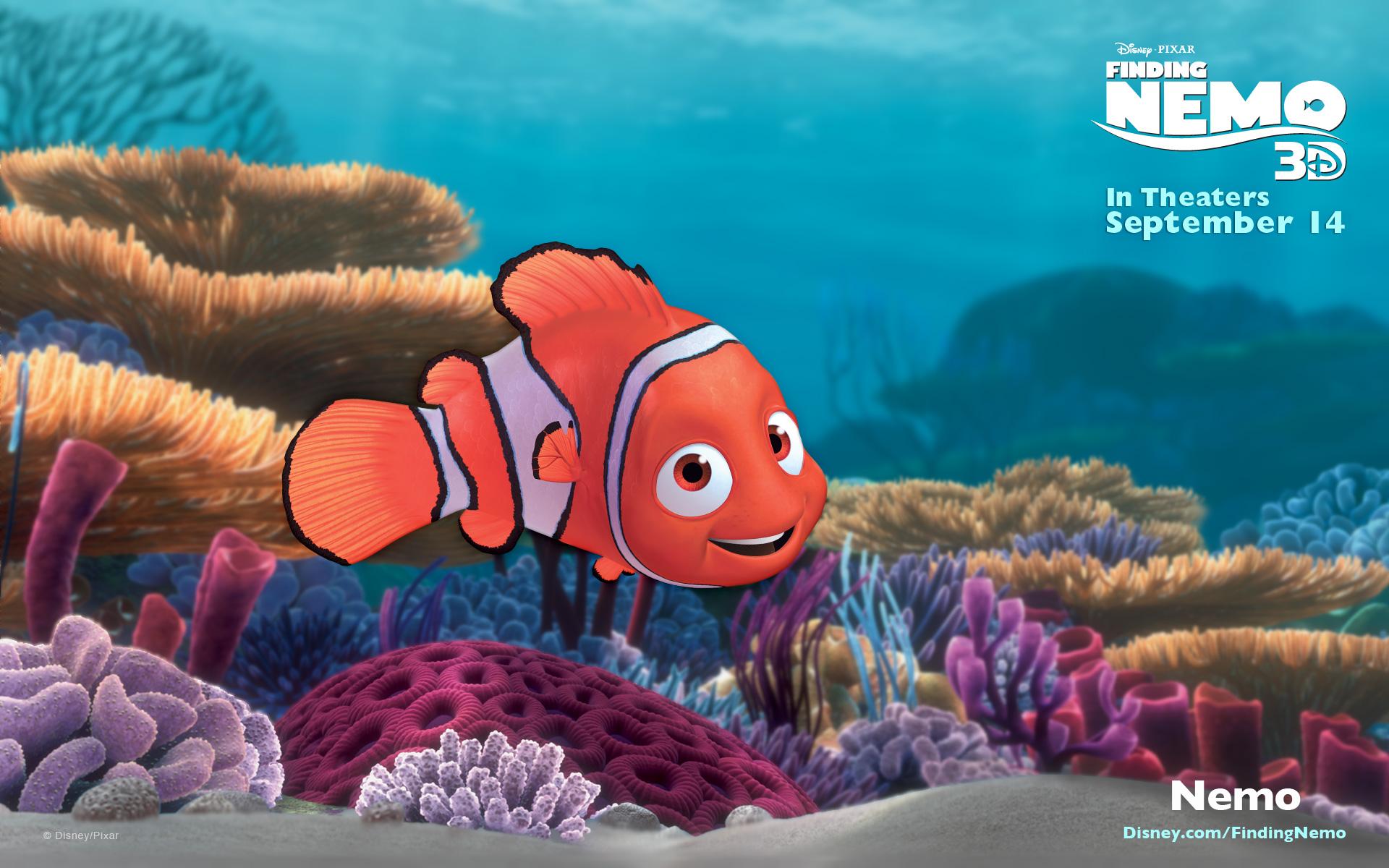 Clown Fish Wallpaper Iphone 6 Plus Finding Nemo Computer Wallpapers Desktop Backgrounds