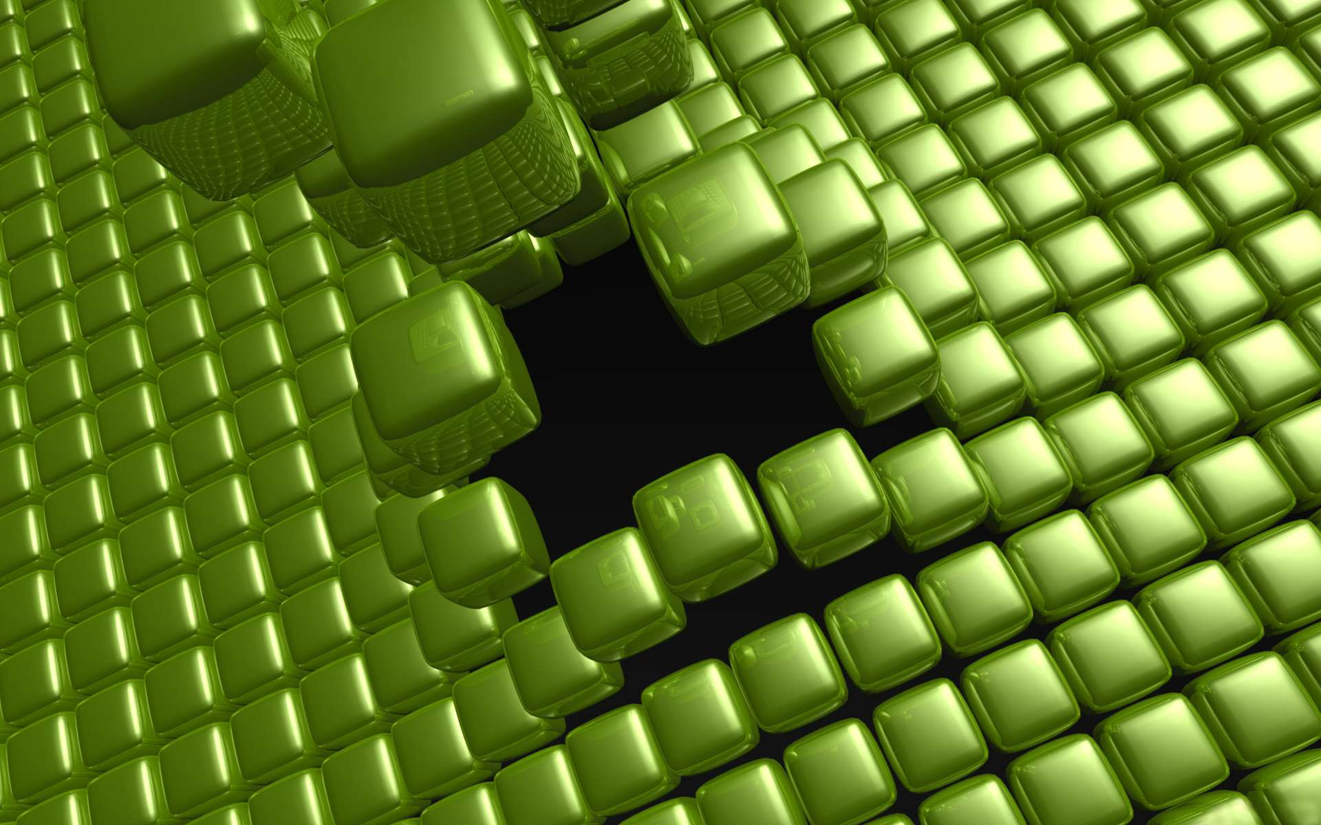 Wallpaper Abstrak 3d Cube Full Hd Wallpaper And Background Image 1920x1200