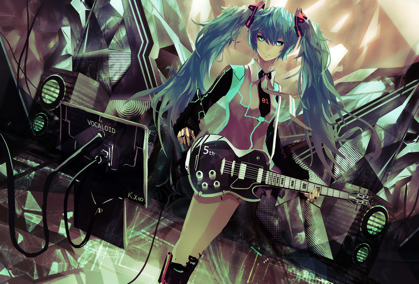 Goth Girl Wallpaper 1440x2960 Vocaloid Wallpaper And Background Image 1366x926 Id 328277