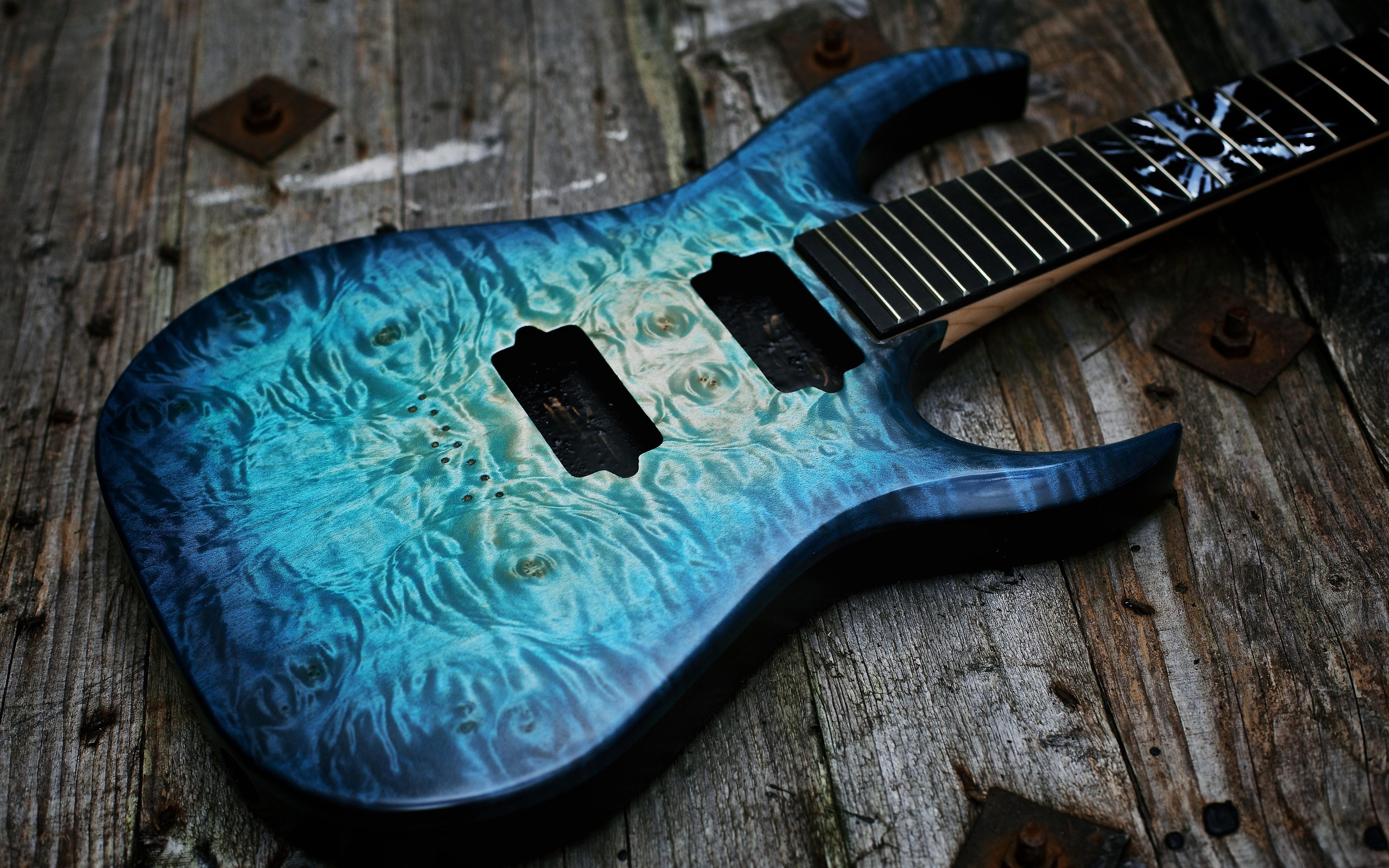 Electric Blue Wallpaper Hd Guitare 4k Ultra Hd Fond D 233 Cran And Arri 232 Re Plan