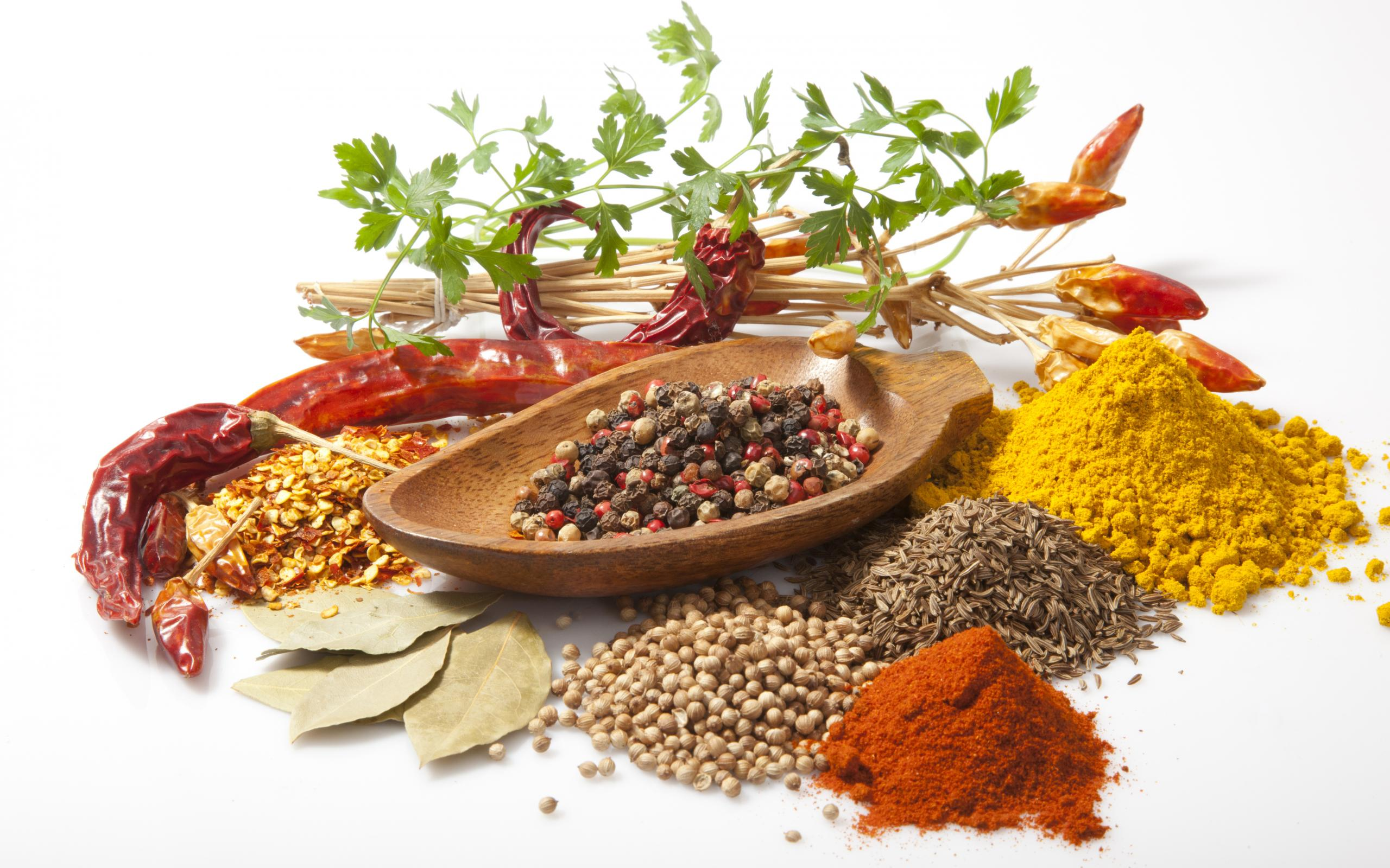 Cuisine Spicy Herbs And Spices Full Hd Wallpaper And Background Image