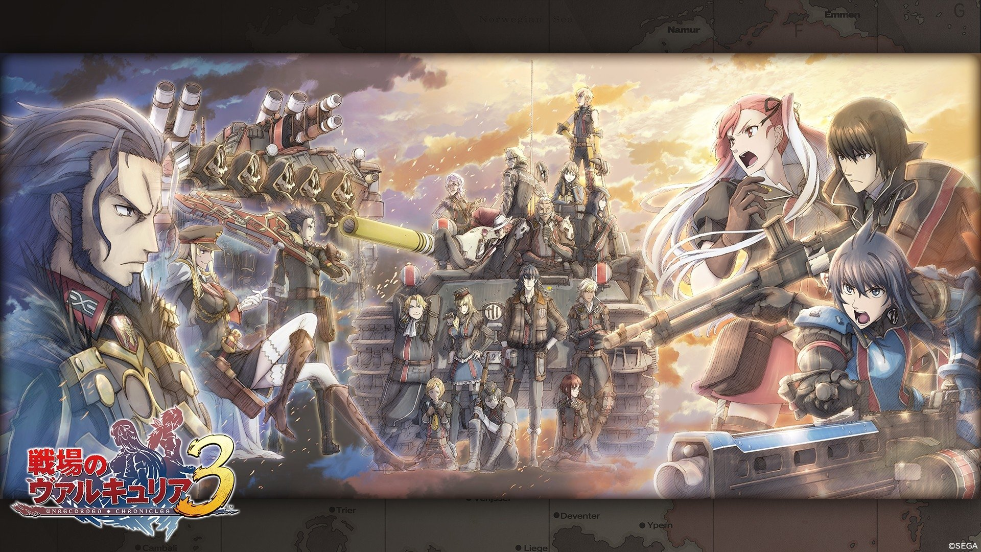 Iphone 7 Plus Hd Wallpapers Reddit Valkyria Chronicles Hd Wallpaper Background Image