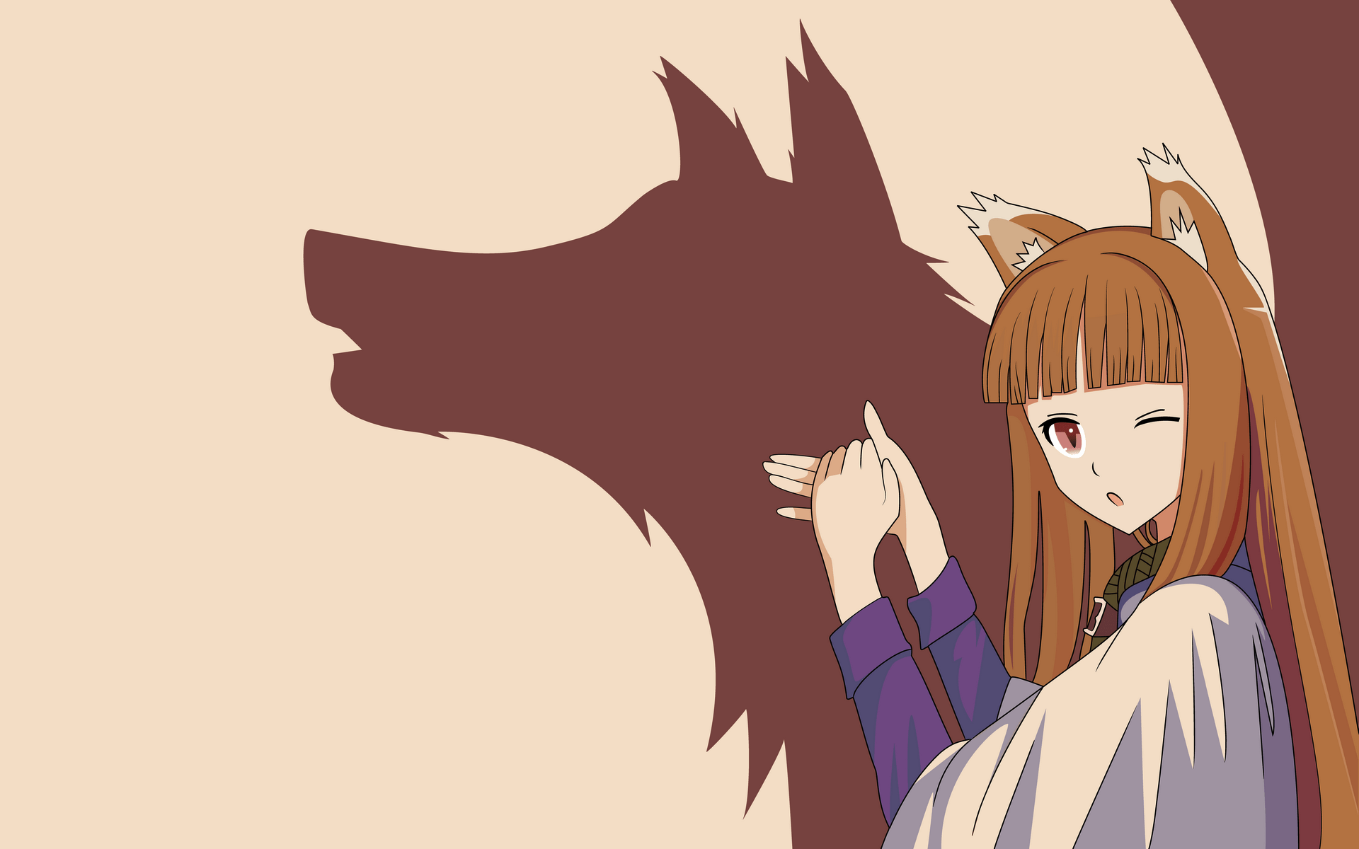 Cute Girl Wallpaper For Facebook Timeline Spice And Wolf Full Hd Wallpaper And Background Image