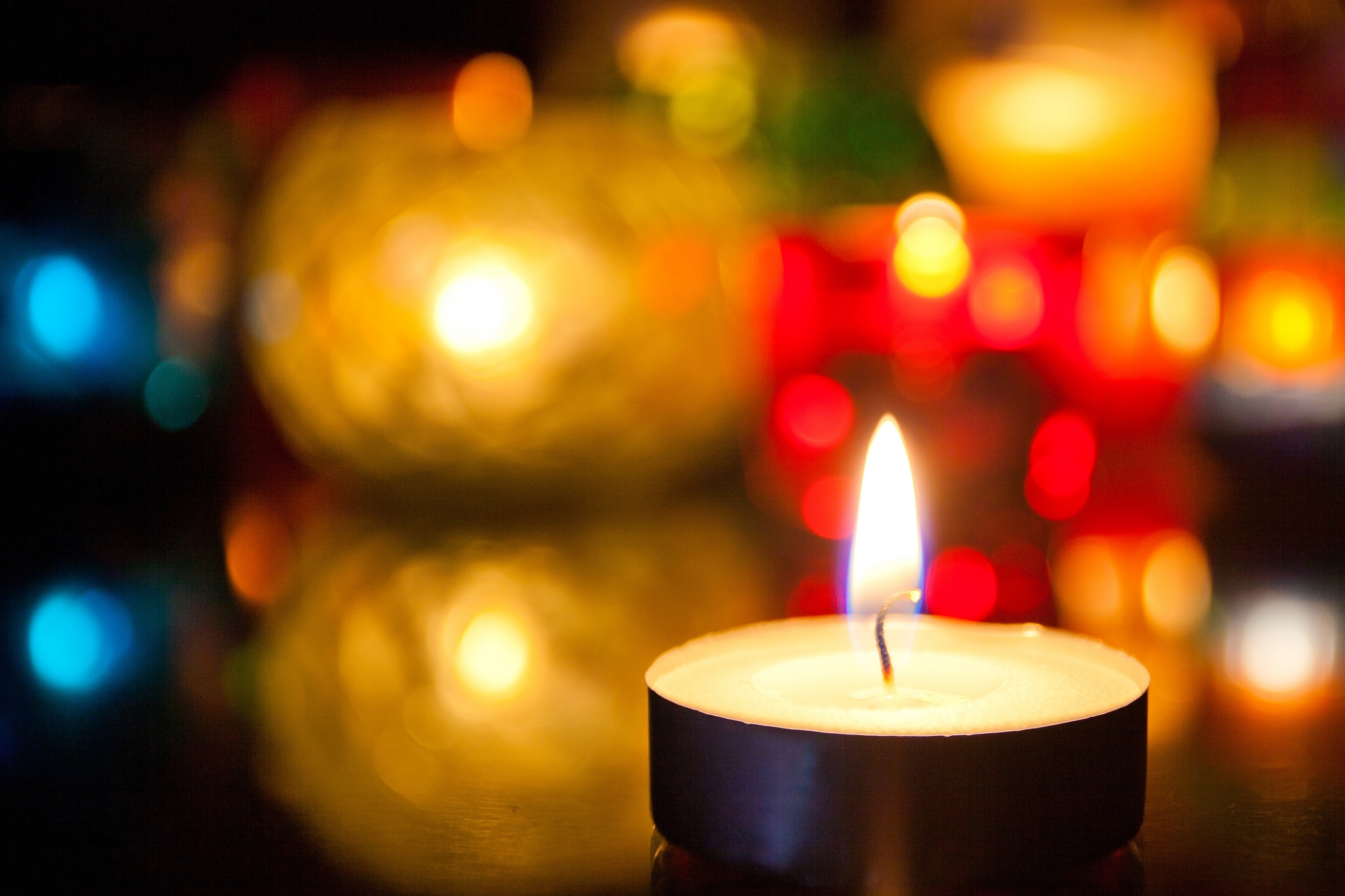 Free Widescreen Wallpaper Fall Candle Hd Wallpaper Background Image 2048x1365 Id