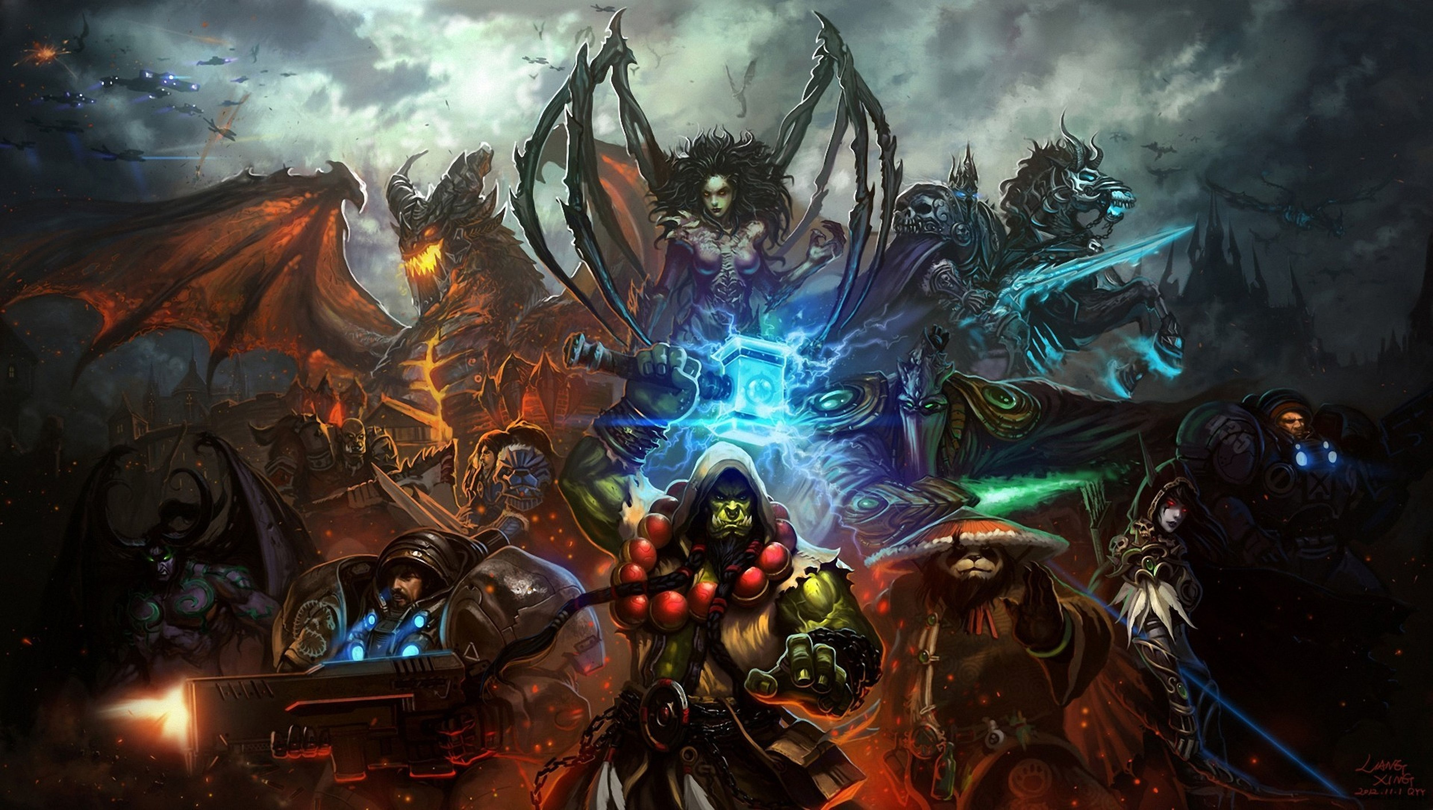 Videogame Wallpapers With Quotes 57 Heroes Of The Storm Hd Wallpapers Backgrounds