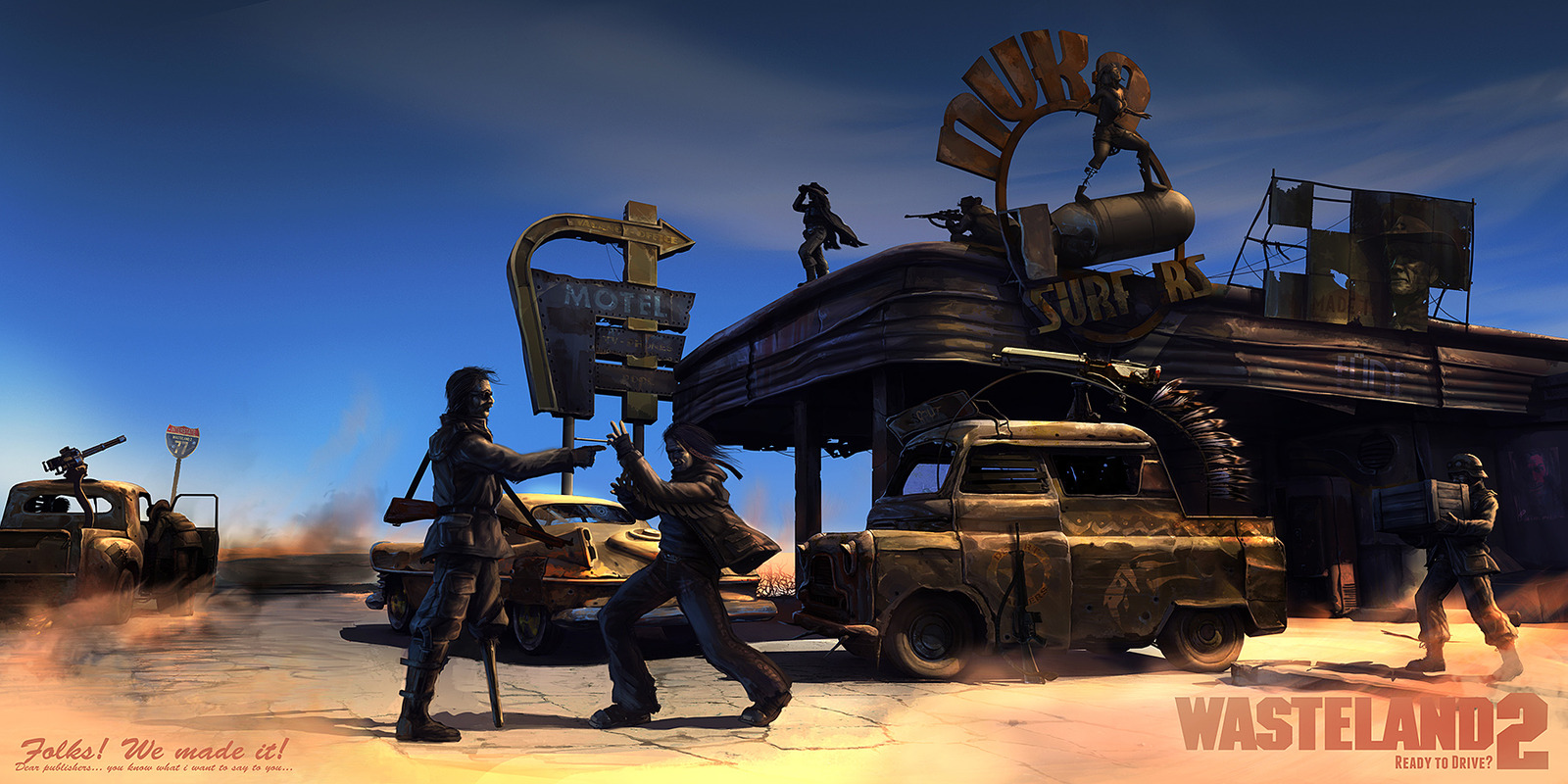Wallpaper 3840x1080 Car Wasteland 2 Wallpaper And Background Image 1600x800 Id