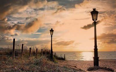 Lamp Post Full HD Wallpaper and Background Image | 1920x1200 | ID:387448