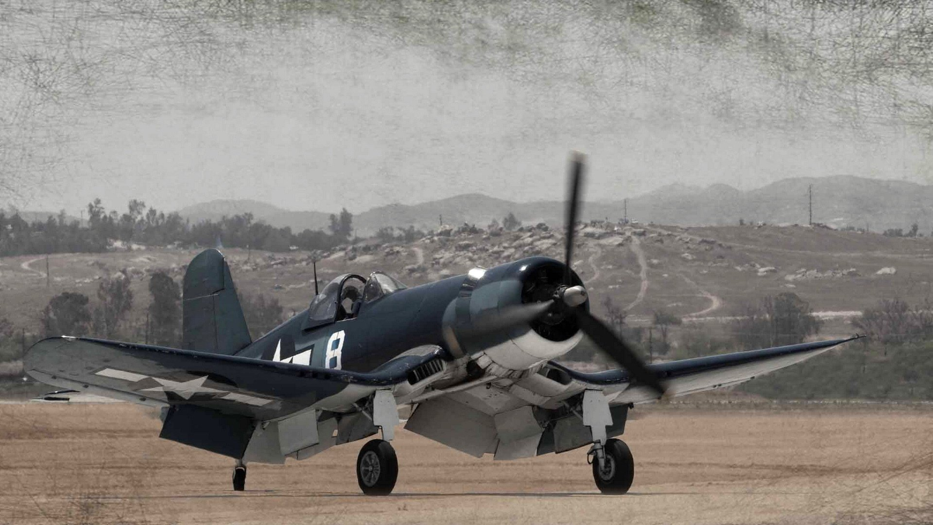 Airbus Iphone Wallpaper Vought F4u Corsair Full Hd Wallpaper And Background Image