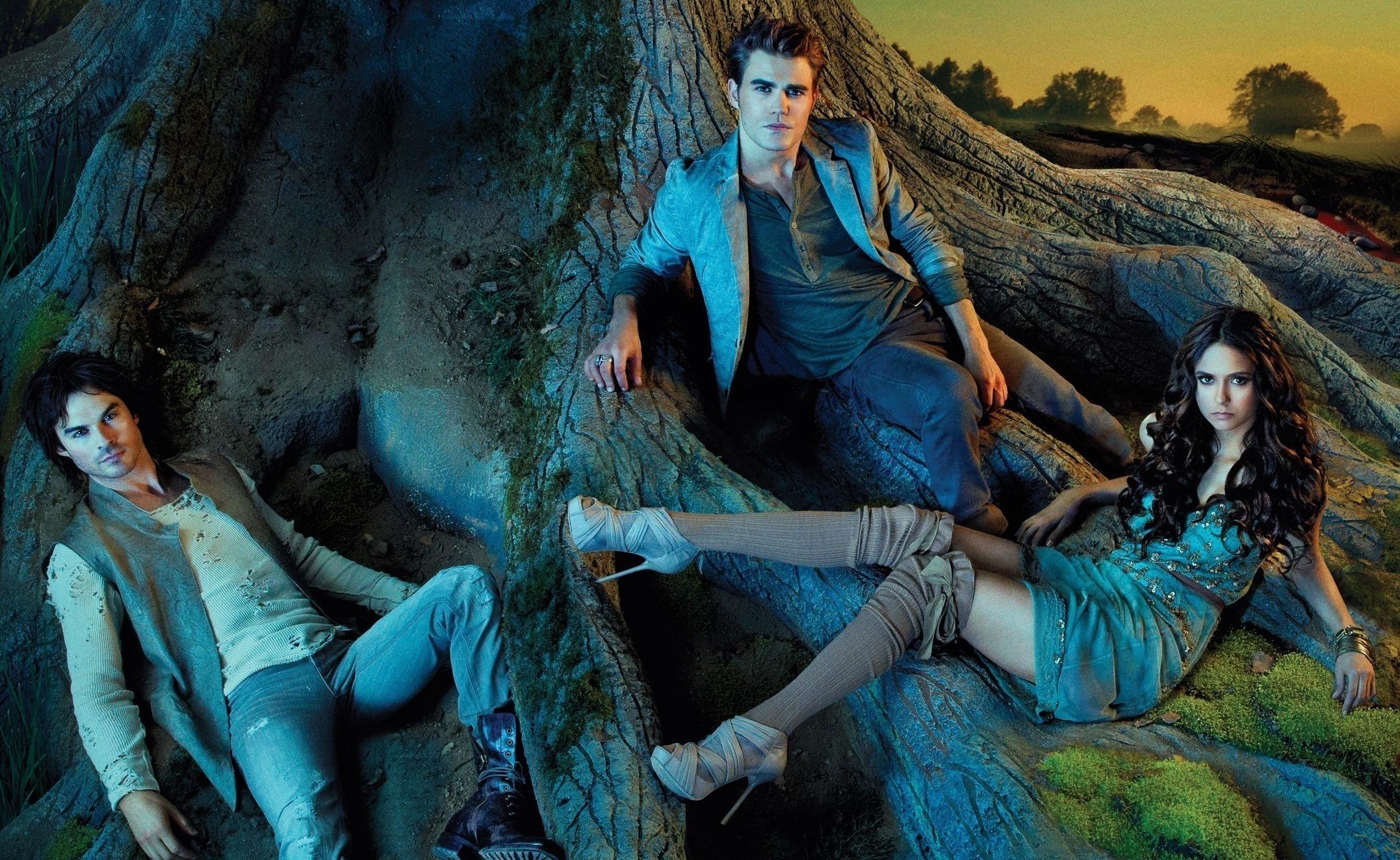 Vampire Diaries Hd Wallpapers 1366x768 The Vampire Diaries Hd Wallpaper Background Image