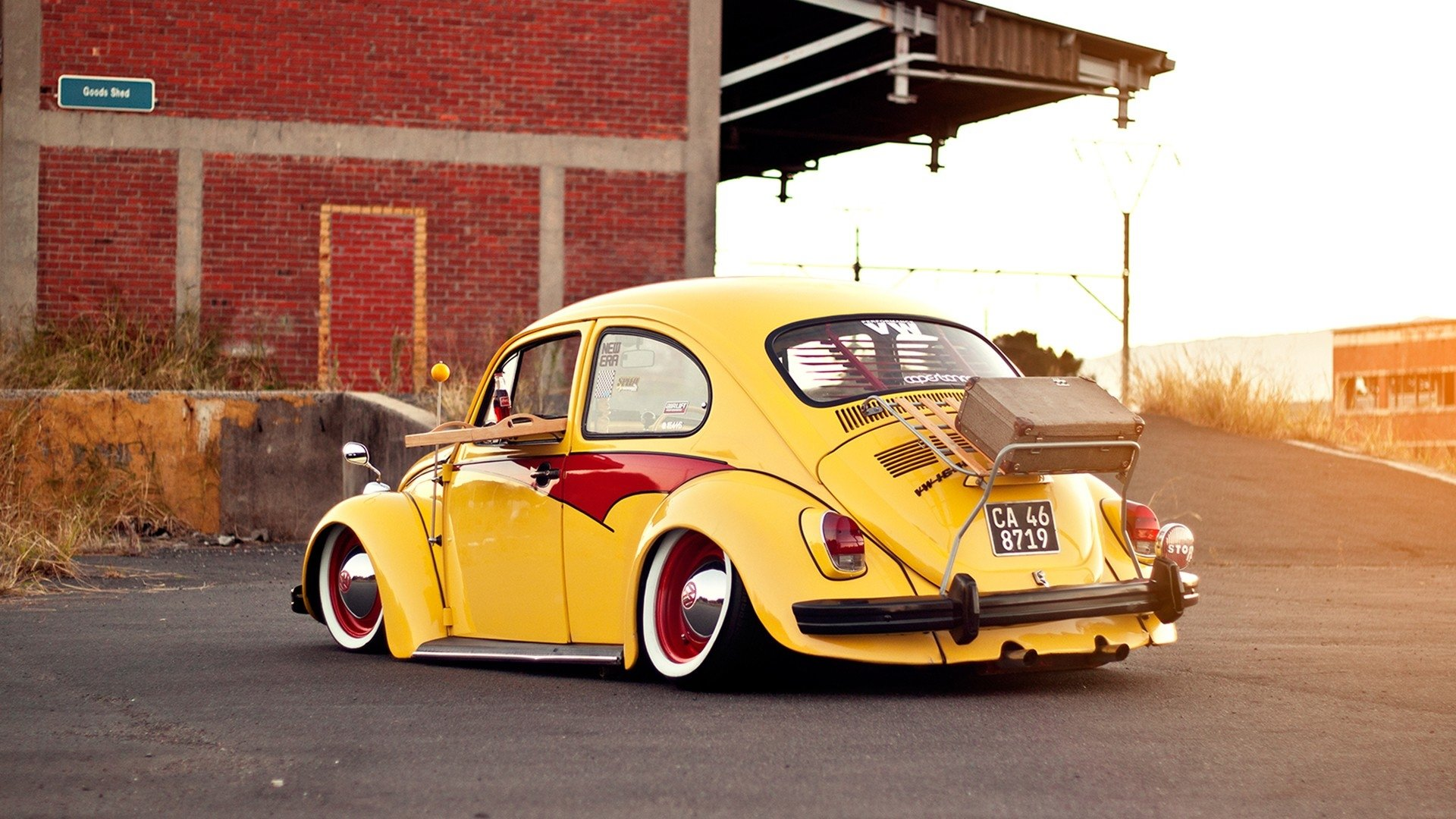 Wallpaper Klasik Keren 92 Volkswagen Beetle Hd Wallpapers Background Images Wallpaper