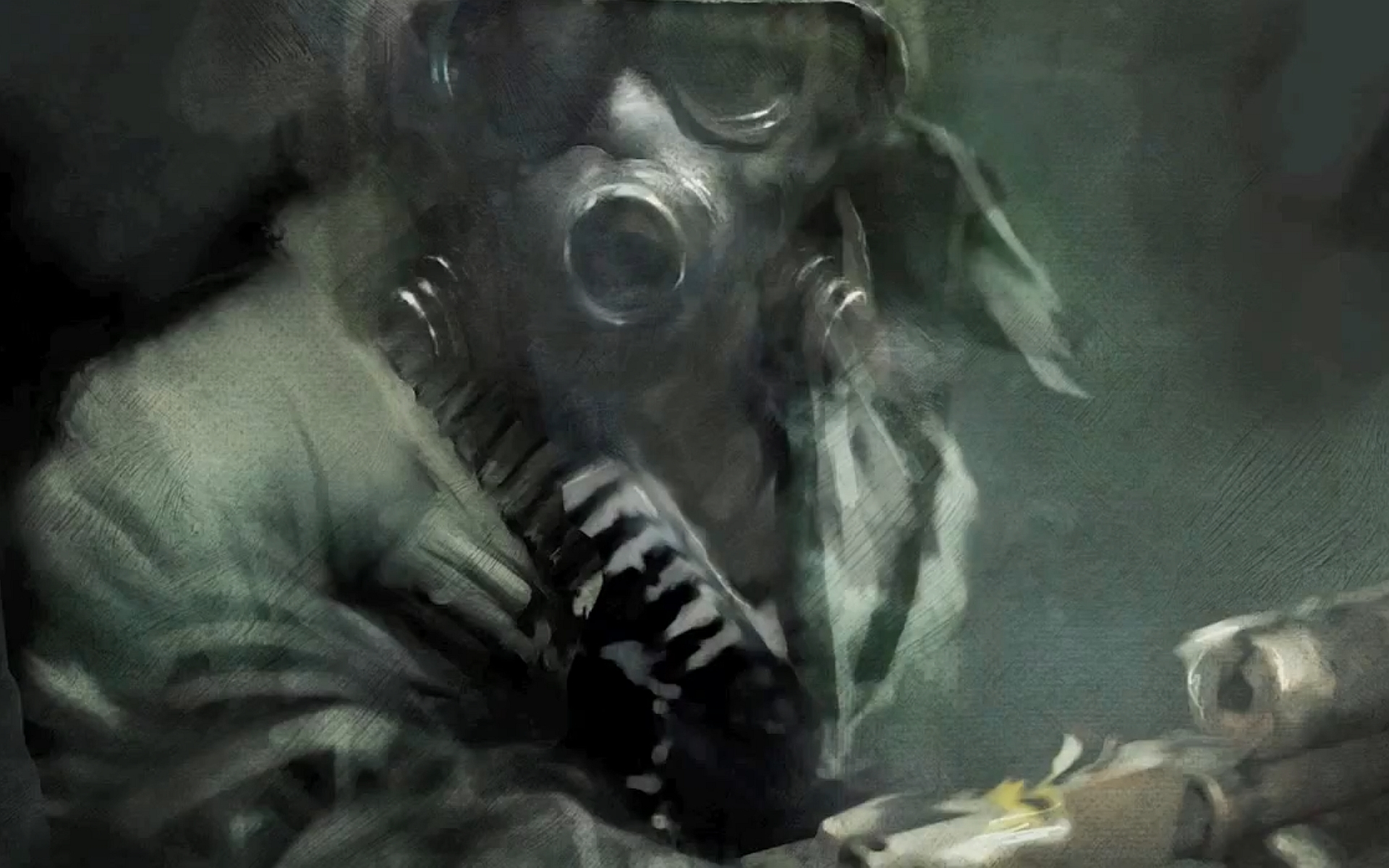 Gas Mask Wallpaper For Iphone Metro Last Light Hd Wallpaper Background Image