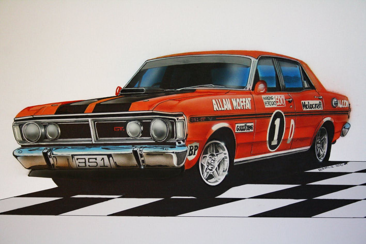 Iphone 6 Plus Muscle Car Wallpaper Xy Ford Falcon Phase Iii Gtho Computer Wallpapers Desktop
