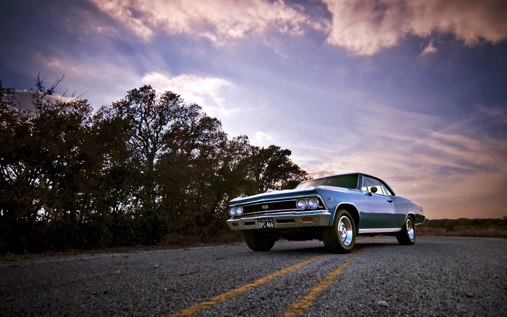 Muscle Cars Burnout Wallpapers 1966 Chevrolet Chevelle Ss Wallpaper And Background Image