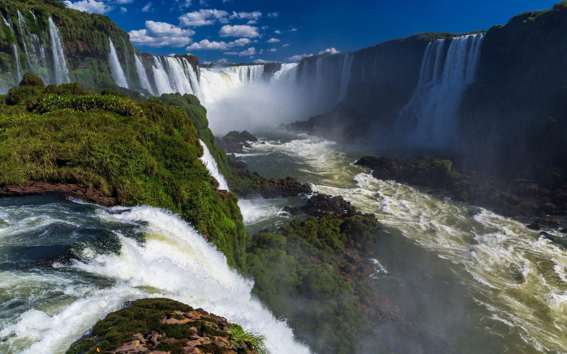 Iguazu Falls Iphone Wallpaper Iguazu Falls Full Hd Wallpaper And Background Image