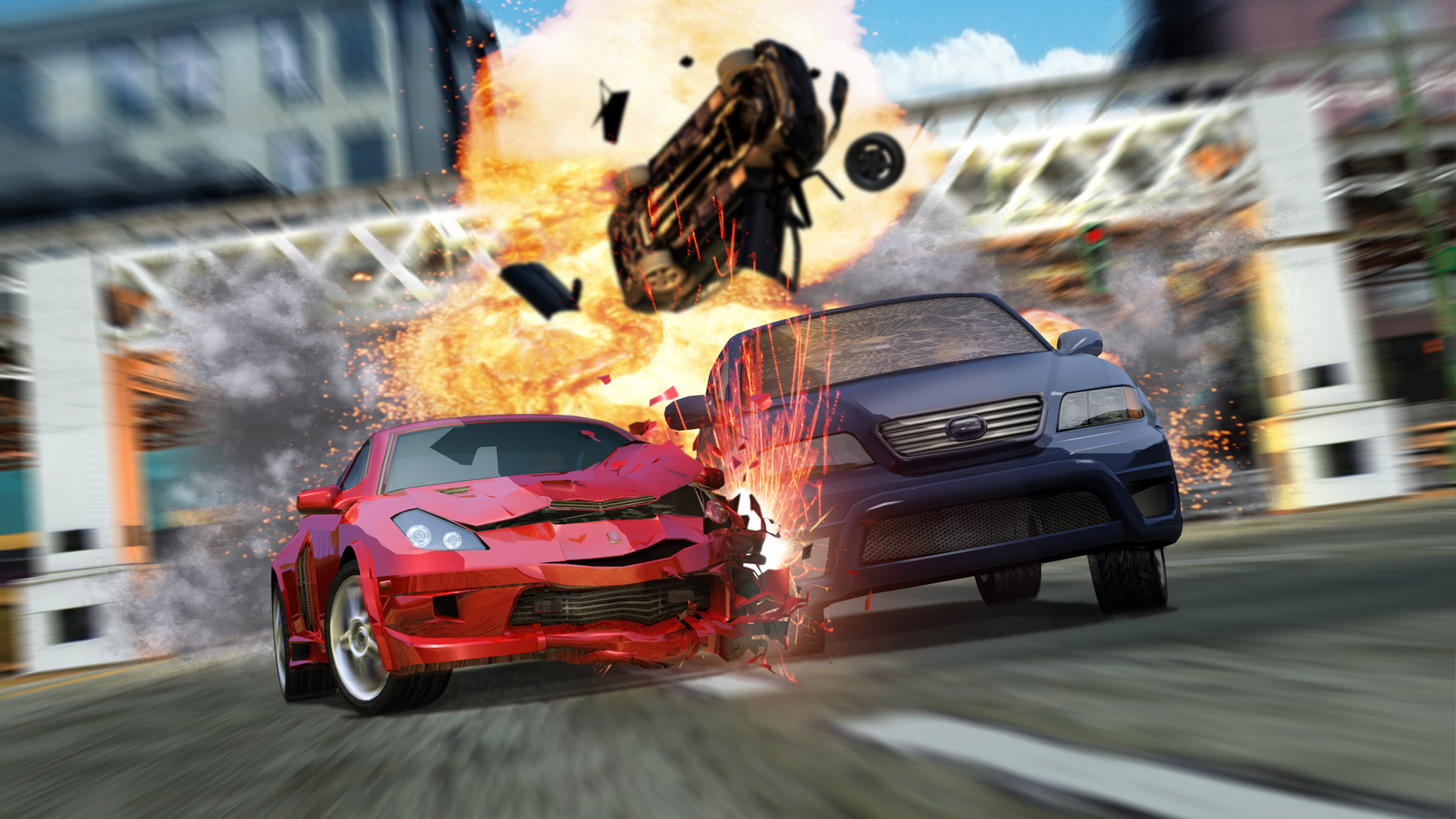 Car Wallpaper Slideshow 5 Burnout 3 Takedown Hd Wallpapers Backgrounds