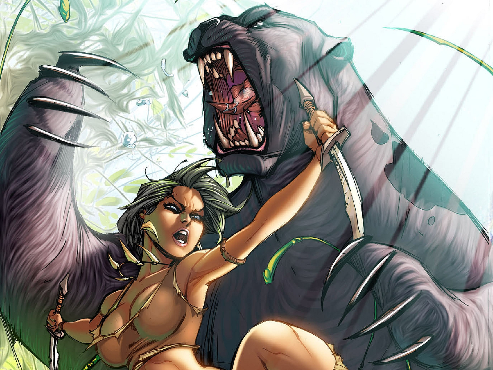 Fall Wallpaper 4k 4 Grimm Fairy Tales Jungle Book Hd Wallpapers