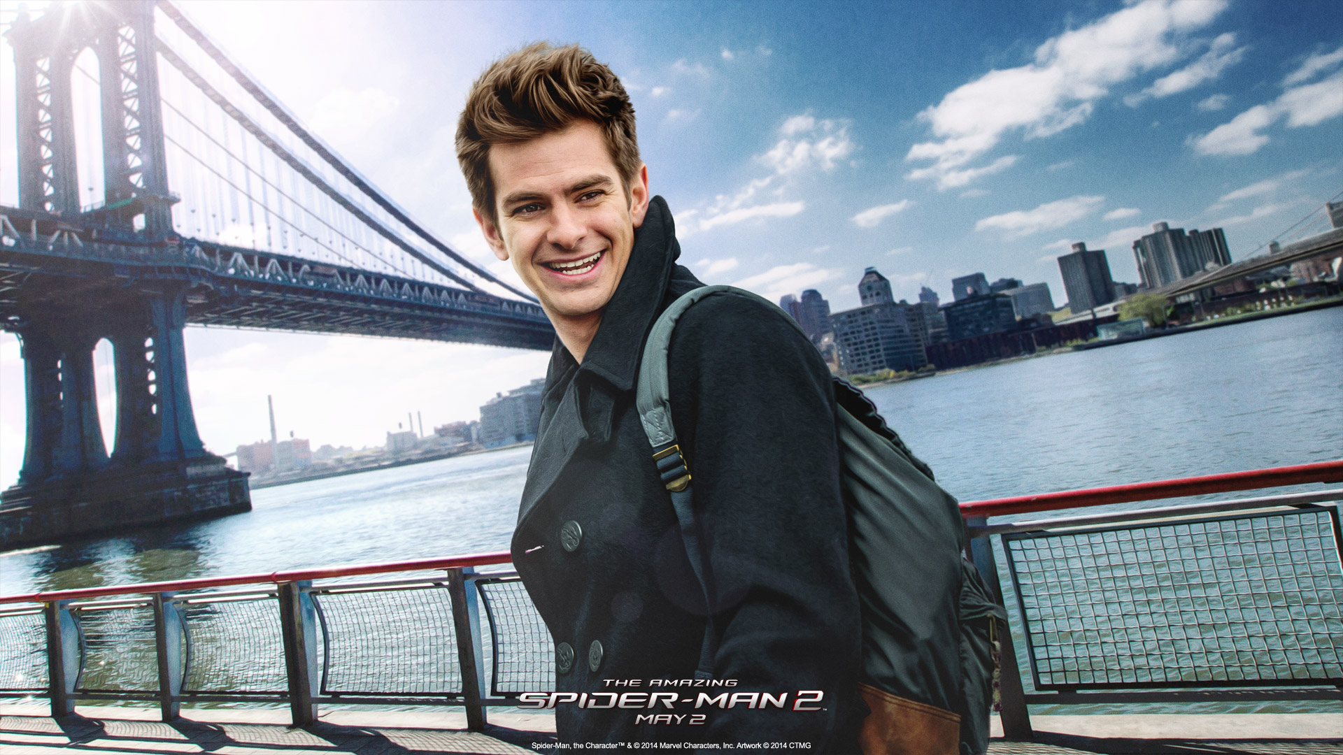 Andrew Garfield Wallpaper Iphone The Amazing Spider Man 2 Full Hd Wallpaper And Background