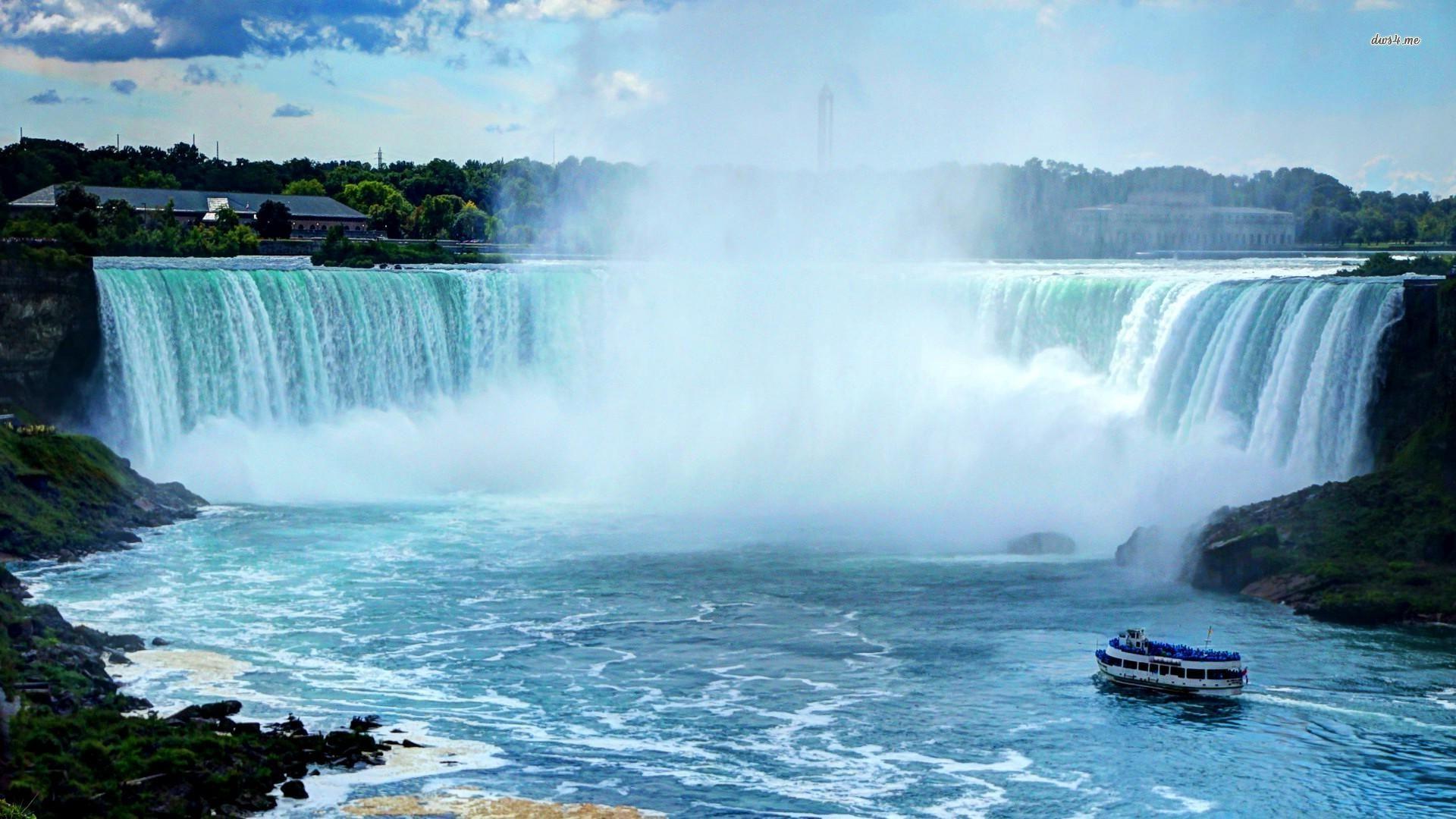 Niagara Falls Wallpaper Iphone Niagara Falls Fonds D 233 Cran Arri 232 Res Plan 1920x1080