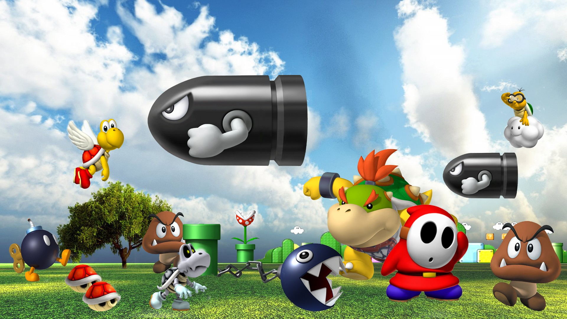 Shy Guy Iphone Wallpaper Super Mario 64 Full Hd Wallpaper And Background Image