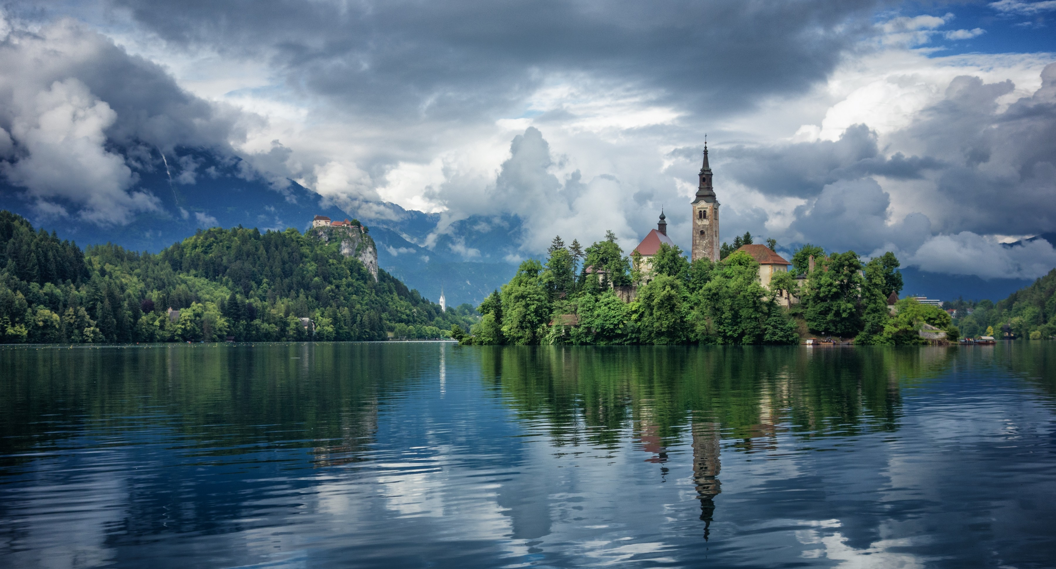 How To Download Wallpaper For Iphone 6 Bled Slovenia 電腦桌布 桌面背景 3600x1940 Id 540271