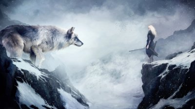 Wolfy likes? HD Wallpaper | Background Image | 3200x1800 | ID:545489 - Wallpaper Abyss