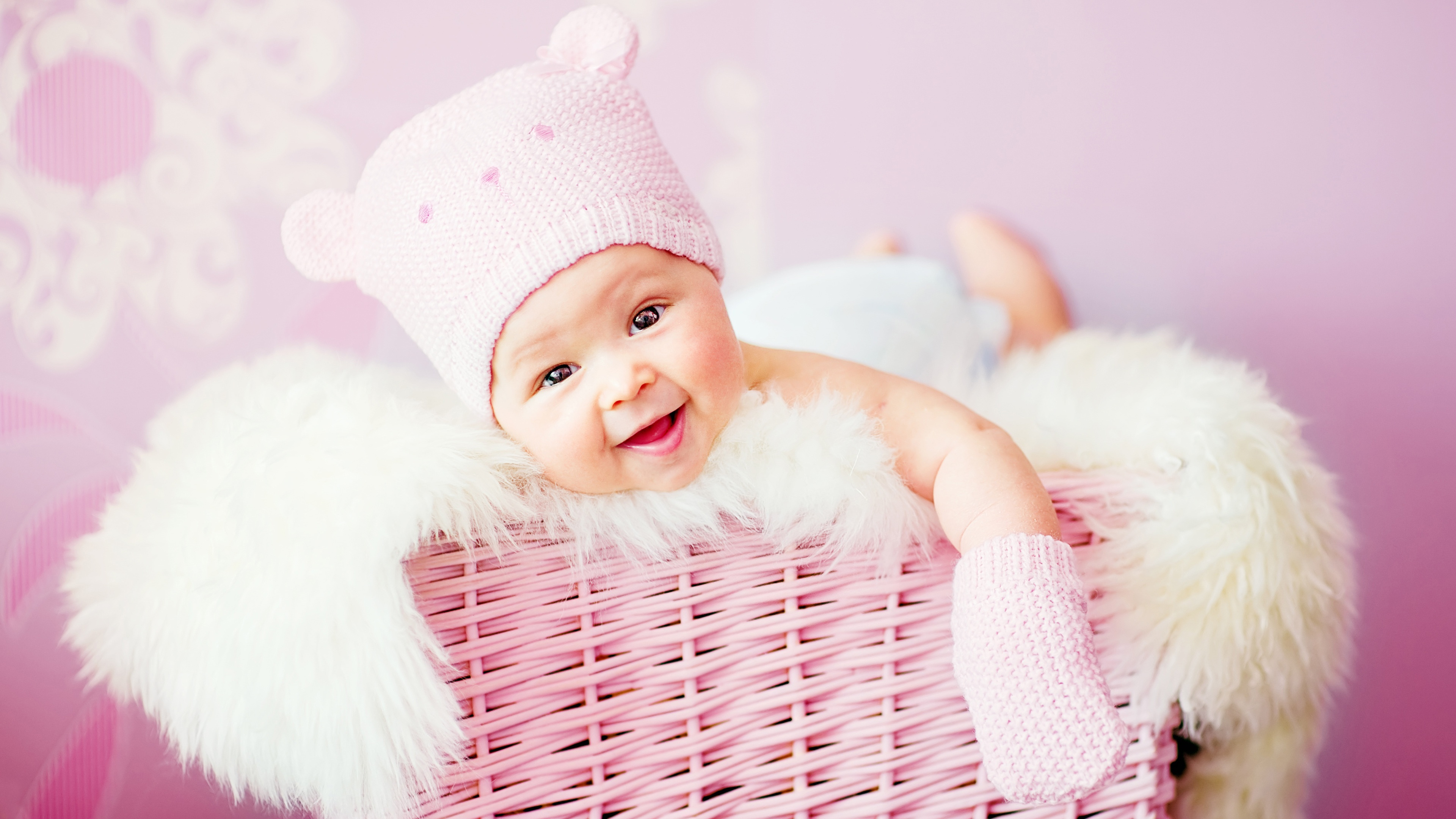 Baby Pink Iphone Wallpaper Baby 4k Ultra Hd Wallpaper And Background Image