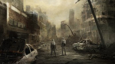 Post Apocalyptic HD Wallpaper   Background Image   1920x1080   ID:602498 - Wallpaper Abyss