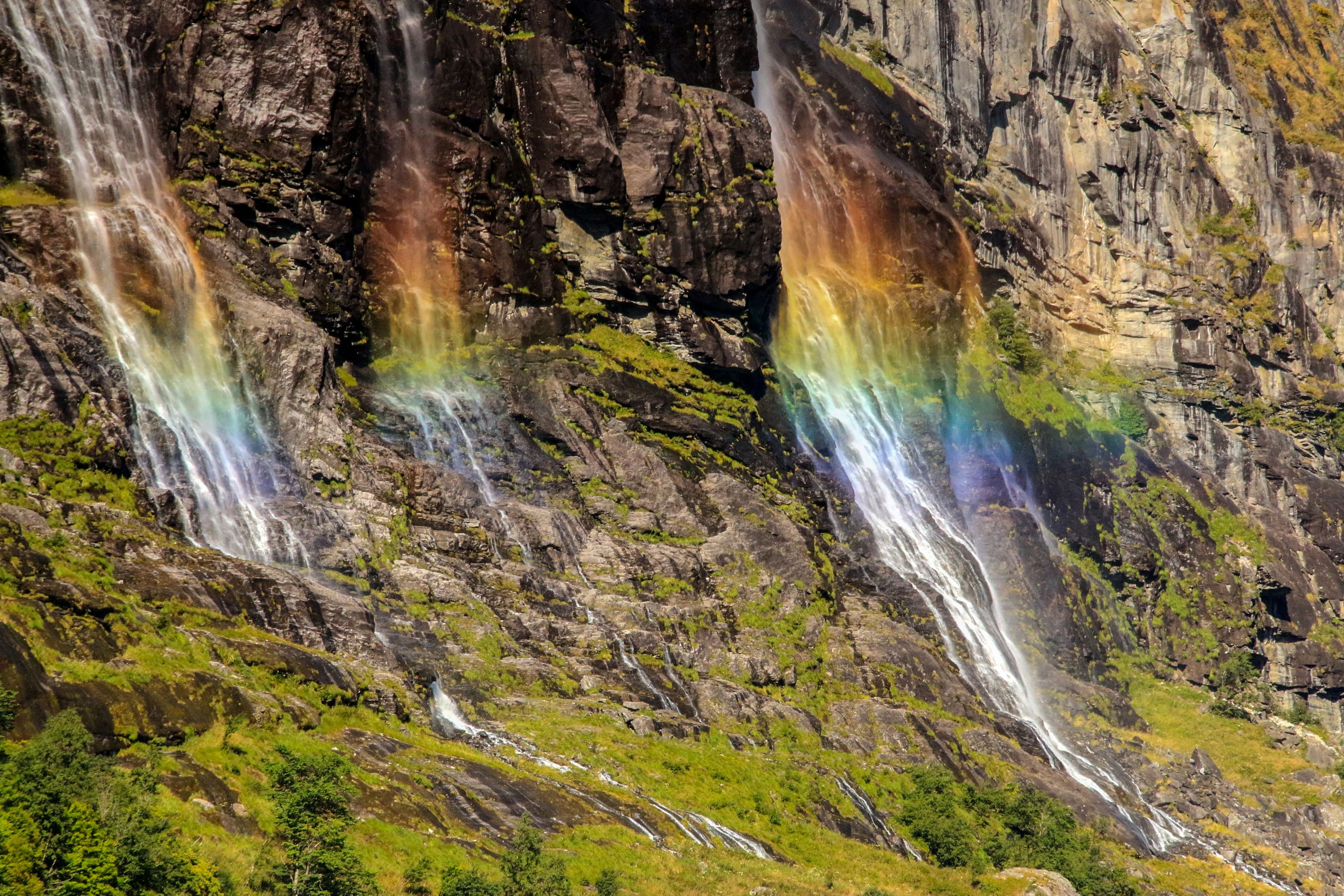 Fall Wallpaper Iphone 6 Seven Sisters Waterfall Norway Computer Wallpapers
