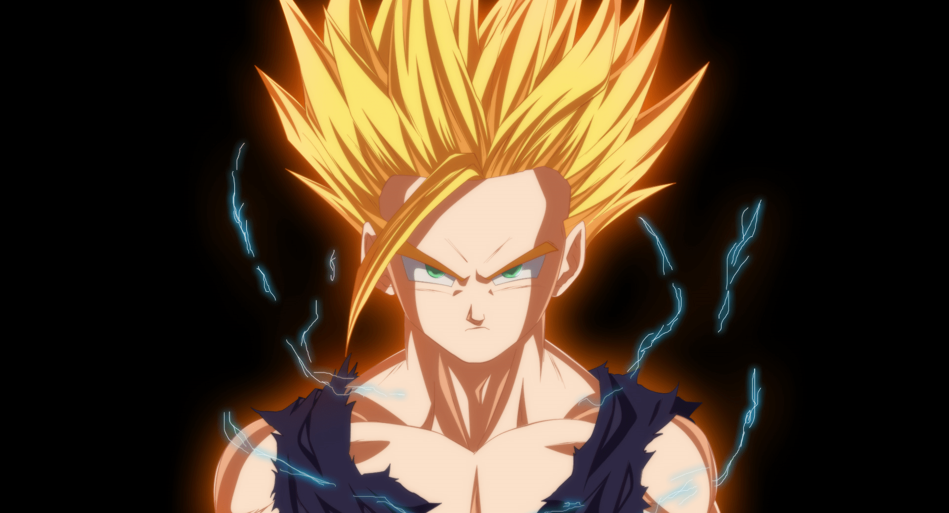 Dragon Ball Z Iphone Wallpaper Gohan Ssj2 Wallpaper And Background Image 1919x1037