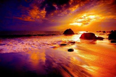 Beach Sunset HD Wallpaper | Background Image | 3000x2000 | ID:680737 - Wallpaper Abyss