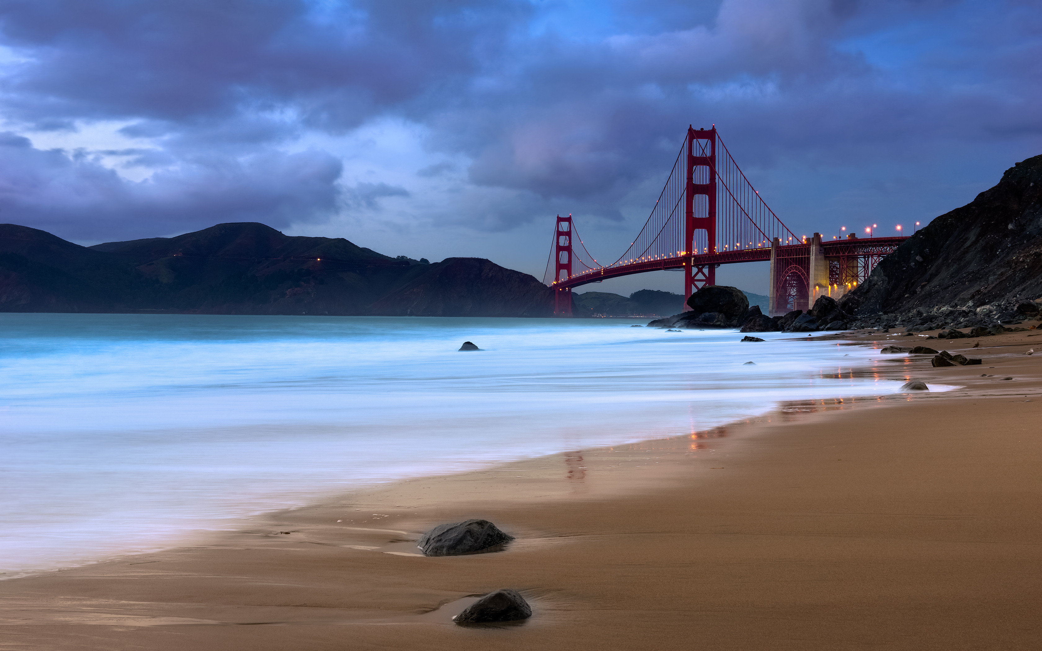 Miami Iphone X Wallpaper Golden Gate Hd Wallpaper Background Image 3360x2100