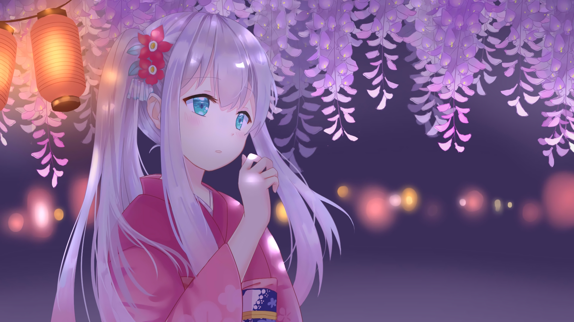 Kawaii Animae Girl Wallpaper 埃罗芒阿老师 高清壁纸 桌面背景 1920x1080 Id 836124 Wallpaper Abyss