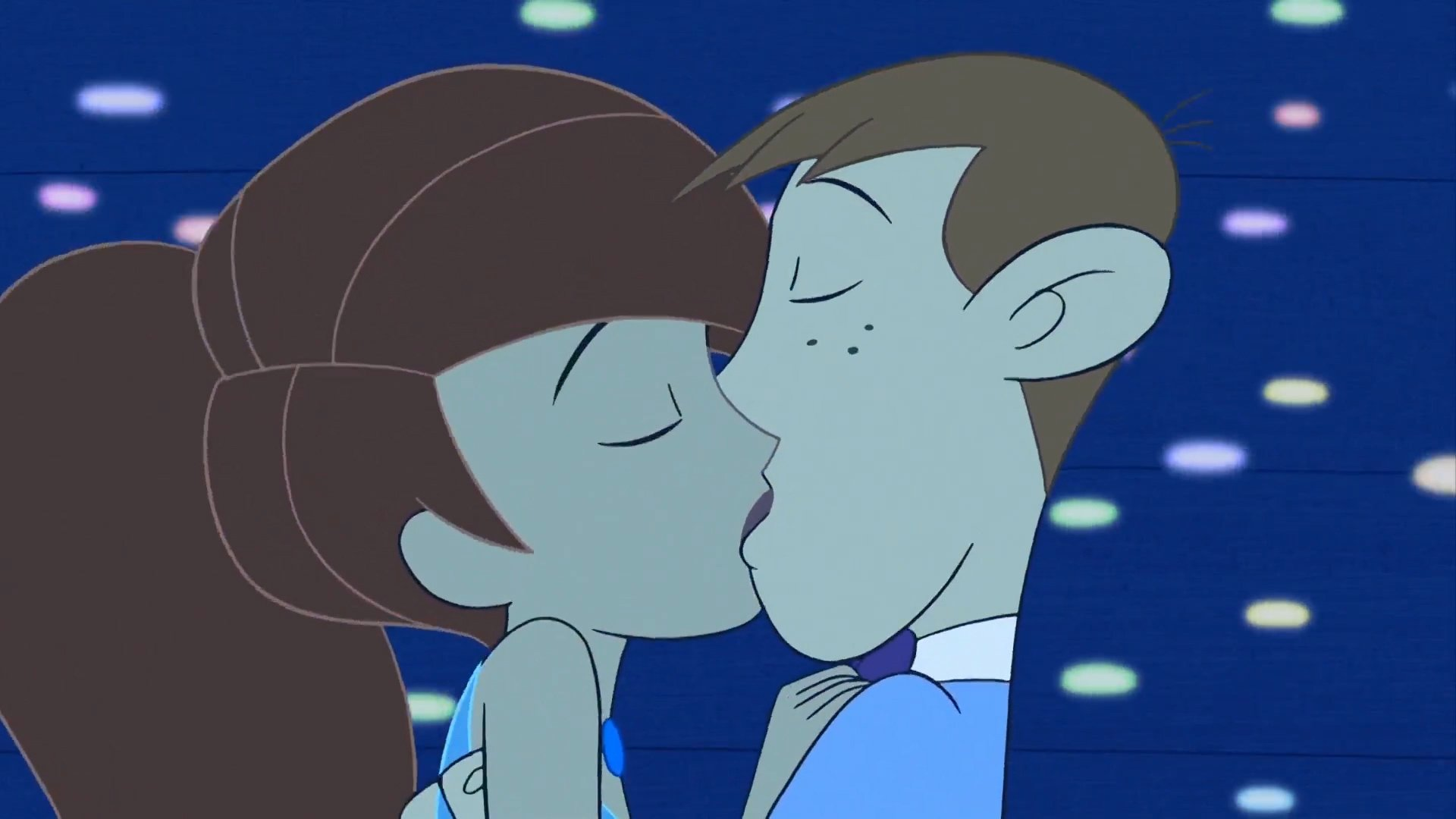 Wallpaper Gravity Falls Iphone Kim And Ron Kissing At Prom Night Hd Wallpaper