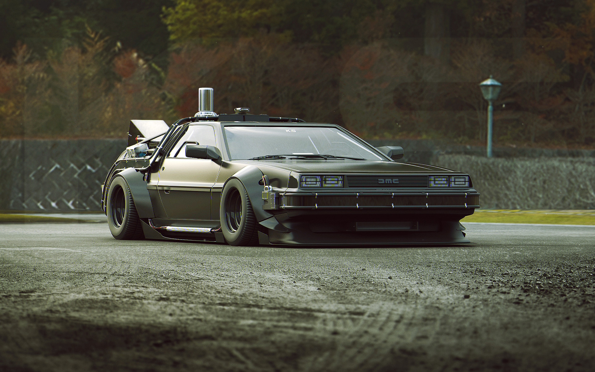 Back To The Future Iphone X Wallpaper Delorean Full Hd Wallpaper And Background Image