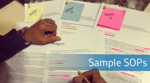Sample SOPs for your abroad studies for MS, MBA and Engineering courses