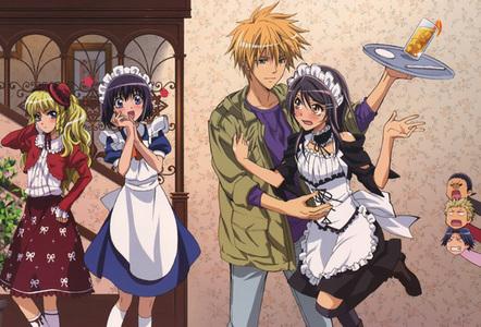 male maids and domestic servants