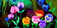 The Pansies - Alice in Wonderland Fan Art (25961561) - Fanpop
