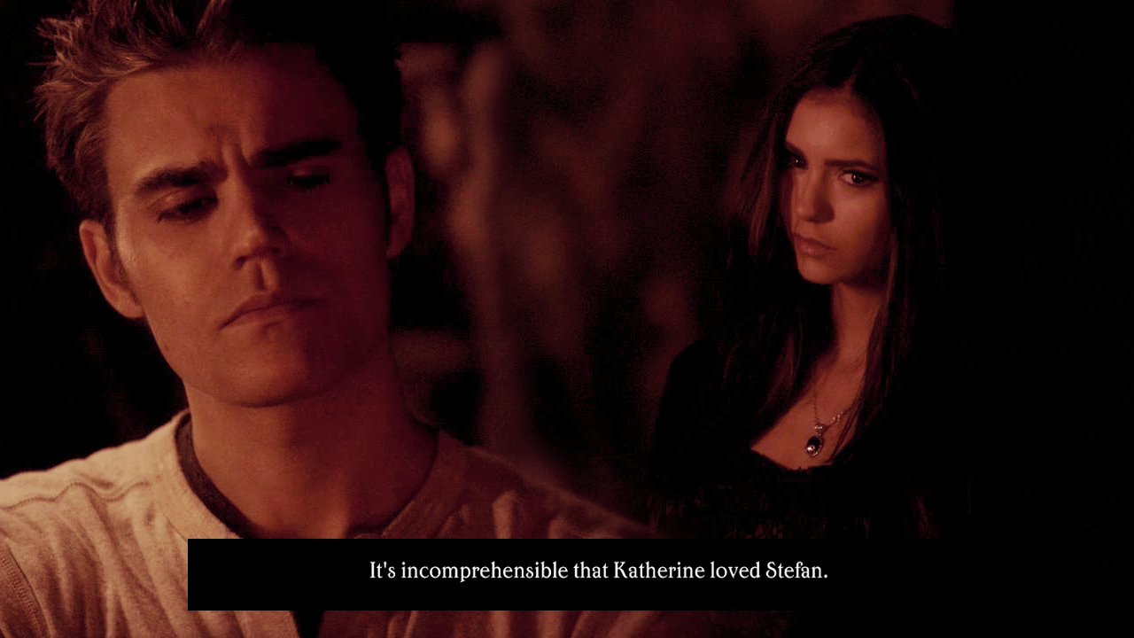 Vampire Love Quotes Wallpaper Steferine Katherine And Stefan Wallpaper 27193992 Fanpop