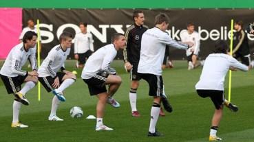 German National Soccer Team Training