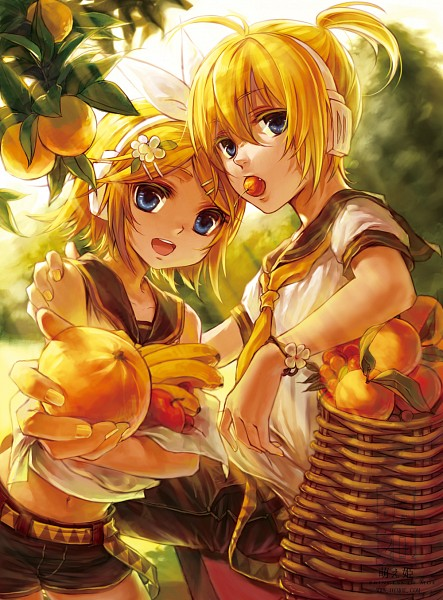 Cute Couple Wallpaper Download Vocaloid Lovers Images Kagamine Twins Wallpaper And