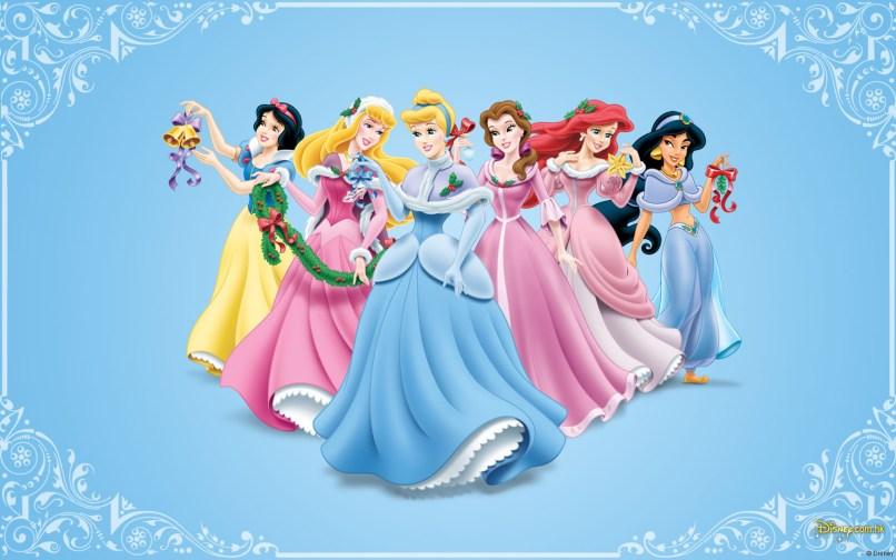 Disney Christmas Images Princess Hd Wallpaper And