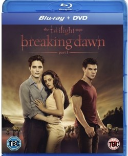 Breaking Dawn The Movie BD part 1 DVD and blu-ray